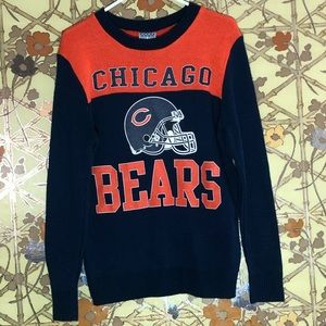 Junk Food Chicago Bears Knitted Sweater Small